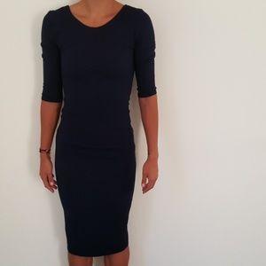 Dresses & Skirts - short-sleeved bodycon dress