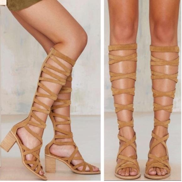 jeffrey campbell suede sandals