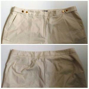 Rafaella Pants - Wide Leg Khaki Pantsuit