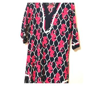 Dresses & Skirts - Escapada Seahorse print dress
