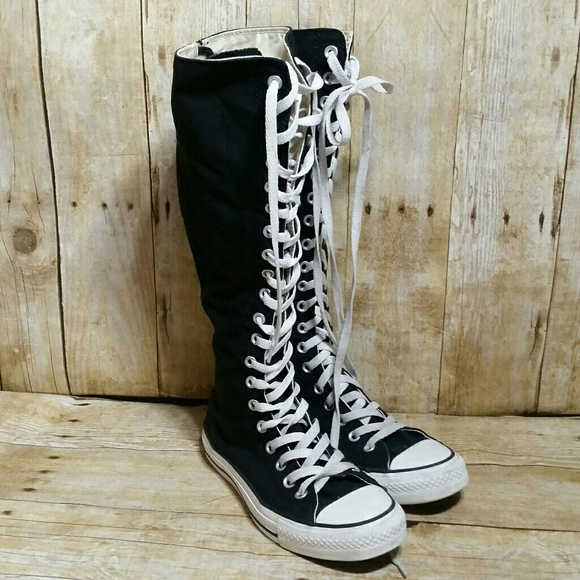 db13633ae4b Converse Shoes - Converse All Star XX Knee High Hi Tops Size 8