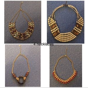 Jewelry - Set of 4 necklaces