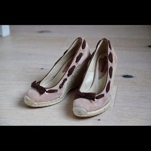 0679b2bec34e Pimiento Shoes - Romantic suede espadrilles pumps (made in Spain)