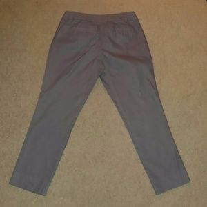 Banana Republic Pants - Banana Republic Gray Cropped Hampton Fit Pants