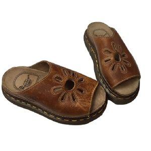Vintage 90s doc marten flower sun sandals size 4