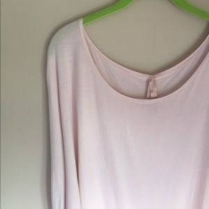 Super soft handmade pink Lani Shirt size medium