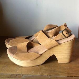 Free People Platform Sandals