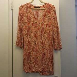 Paisley print Zara dress