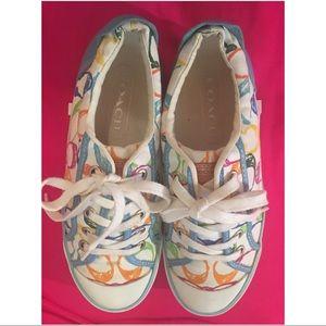Colorful Coach Barrett Sneakers