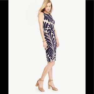 7641eb5cc84b4 Ann Taylor Dresses - 🆕Ann Taylor leaf 🍃 petal peplum sheath dress