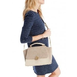 Sole Society Keyon cream crossbody purse