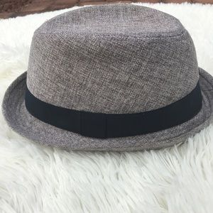 9f00f01fc284e h   m Accessories - 💰H M grey divided fedora hipster Men s hat