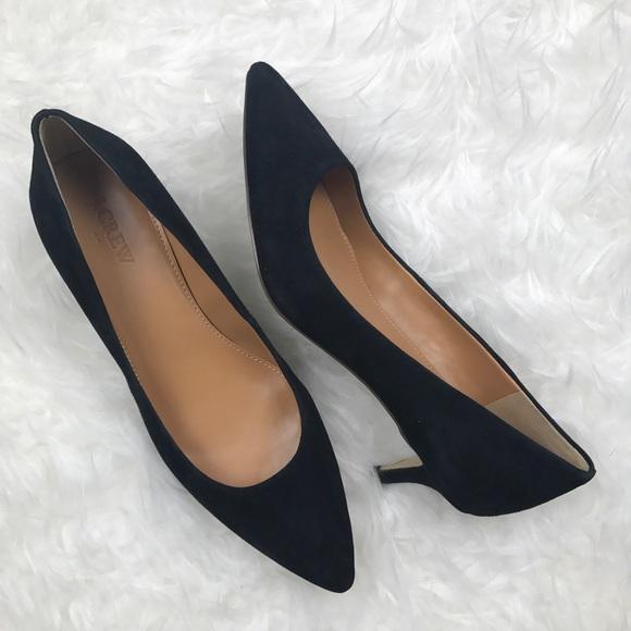 97e74e12e1a J. Crew Factory Shoes - J. Crew Factory Esme Suede Kitten Heels