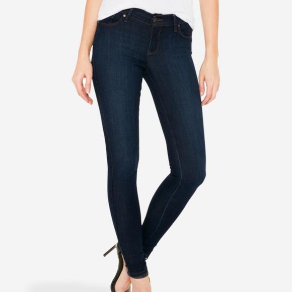 Mott & Bow Denim - Mott & Bow mid-rise skinny jeans