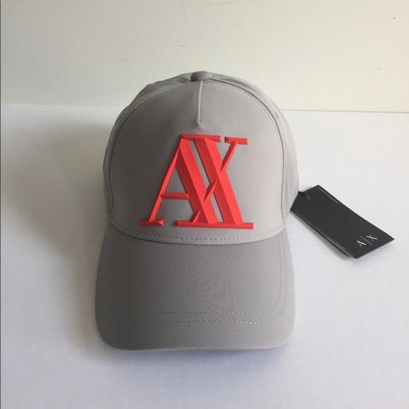 cbdc654b58c Armani Exchange Men Baseball Cap O S New