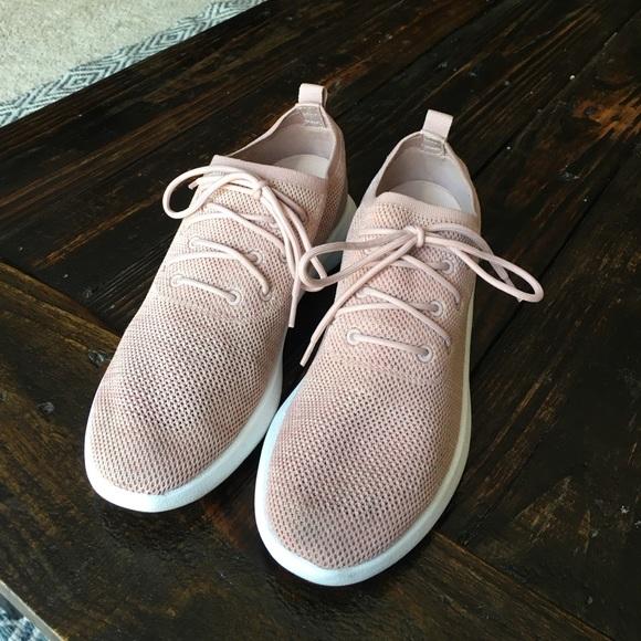 41656d6597 Aldo Shoes - ALDO women s light pink onefour sneakers.