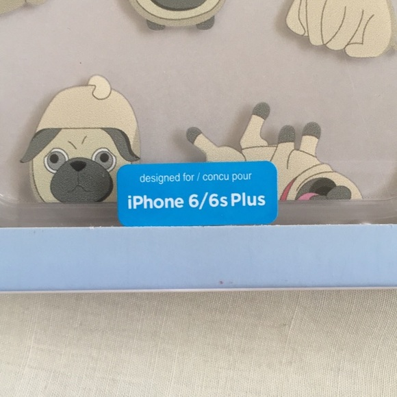 Accessories - pug iphone 6/6s plus case
