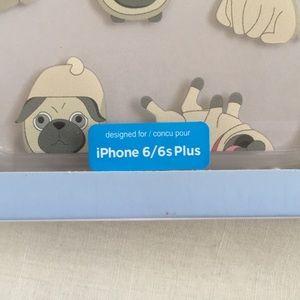 Accessories - pug iphone 6/6s plus case