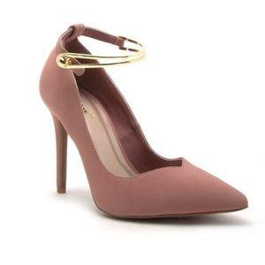 Shoes - 🆕 🔥 2X HP!Tinsley Ankle Strap Pumps MAUVE