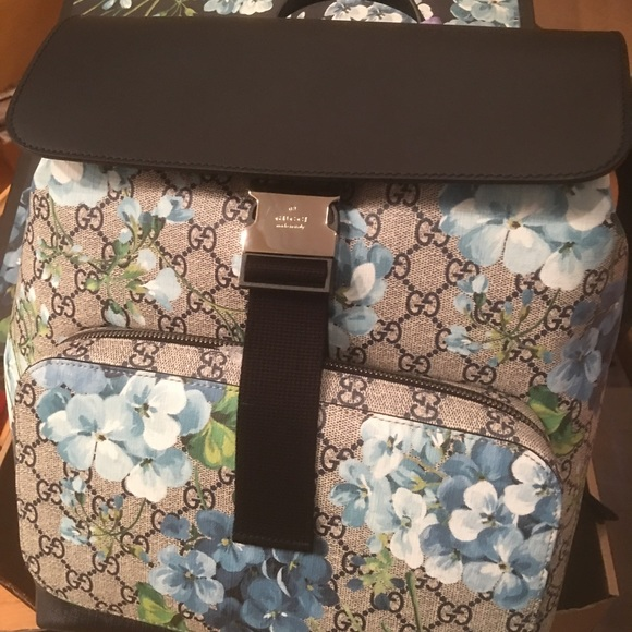 68a9283543ec Gucci Bags | New Blooms Supreme Backpack Authentic | Poshmark