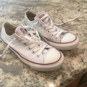 Converse Shoes - White converse all stars worn only a couple times 823ffcf2a