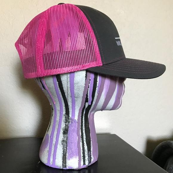 651ffec5bde08 Accessories | Wilbur Ellis Retro Mesh Grey Pink Hat | Poshmark
