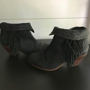Sam Edelman Shoes - Sam Edelman Louie Fringe bootie