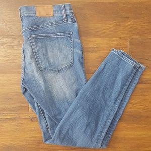 Madewell skinny skinny 30 jeans denim