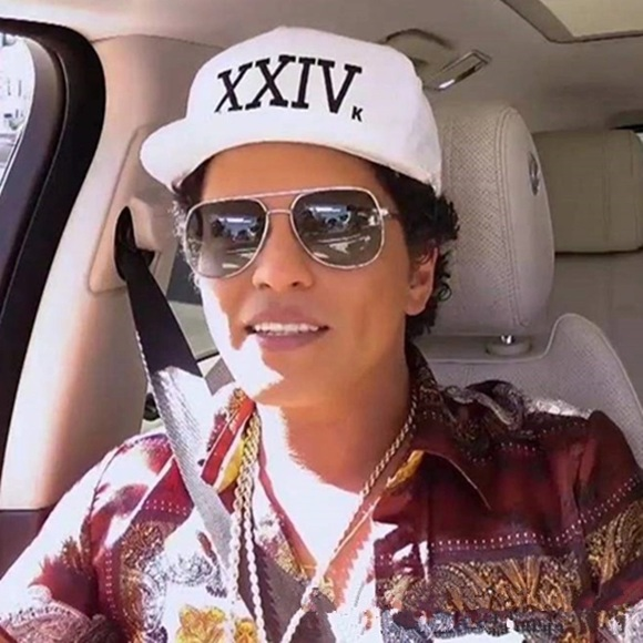 Bruno Mars 24K Magic Adjustable Cap. 18c9757f6e3