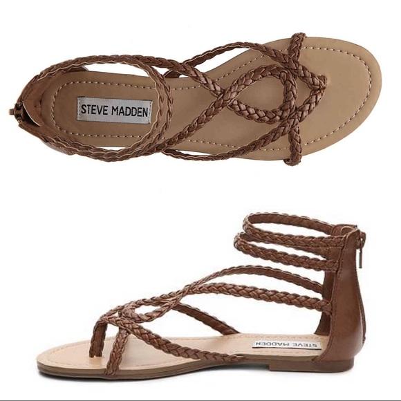 96e53543543 Steve Madden Kammila Gladiator Sandals - EUC!