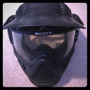 Airsoft Mask Scott Full Face Goggle, used for sale
