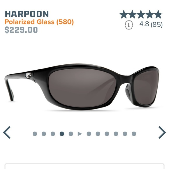 84e3ee44bb Costa Del Mar Harpoon HR 11 Sunglasses