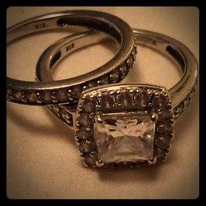 Jewelry - Ring 💍 🎈SALE🎈size 5 cz  925 st. Silver