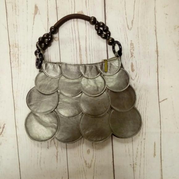Deja Vous Handbags - NWOT Pewter Fashion Handbag