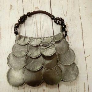 Deja Vous Bags - NWOT Pewter Fashion Handbag