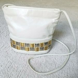 Vintage Bags - Vintage Bucket Style shoulder bag