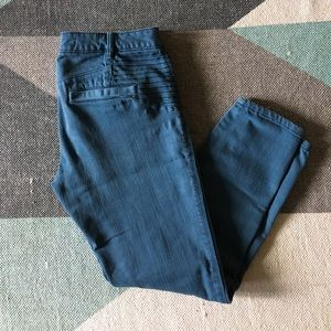Anthropologie daughters of liberation moto pants