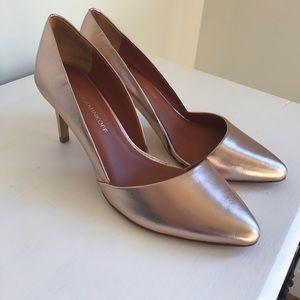 Rebecca Minkoff Rose Gold Brie Pumps Heels Sz 8