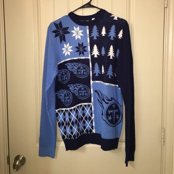 c597ec0e NFL Football TEAM Tennessee Titans Sweater Sz M