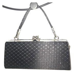 Handbags - Black party clutch