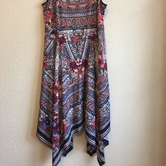 Cato Plus Size Western Paisley Dress 24W