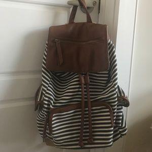 Steve Madden Striped Backpack