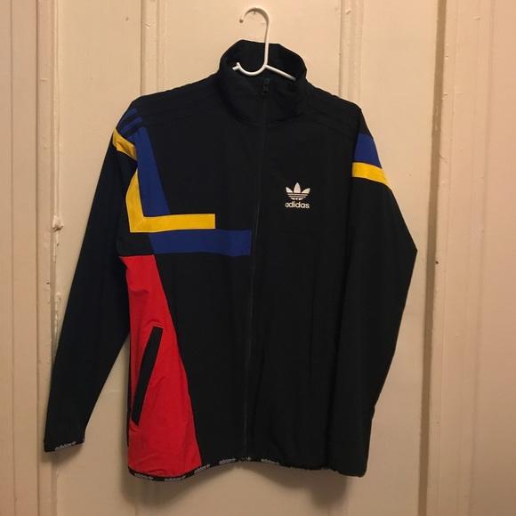 adidas Originals color block track jacket