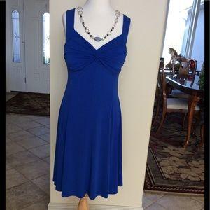 Moda royal blue dress ladies small🌹