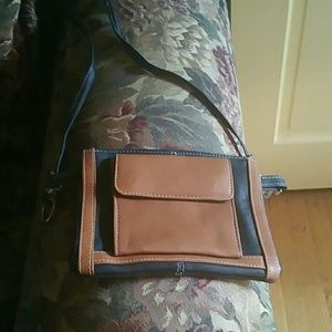 Small Graffeo Leather Crossbody