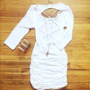 Dresses - Carina White Dress