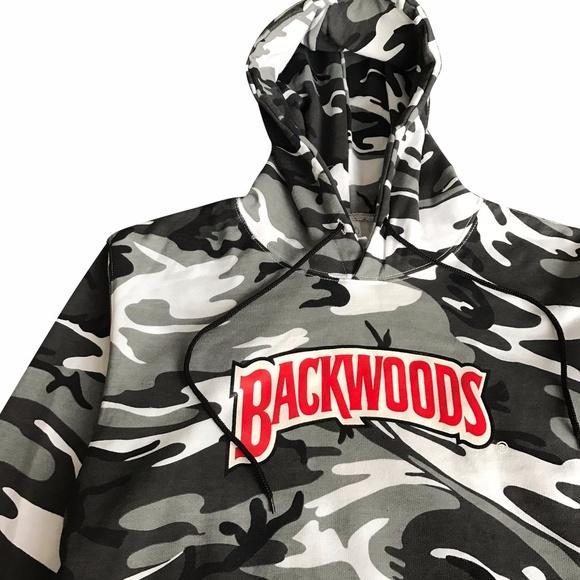 9eb256e5abe0 THEPROLIFICSHOP.com Sweaters | Backwoods White Camo Hoodie | Poshmark