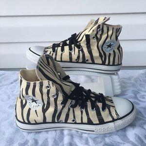Converse Shoes | Tiger Print Converse