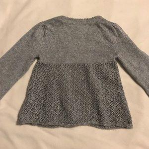 GAP Shirts & Tops - Silver babyGap cardigan