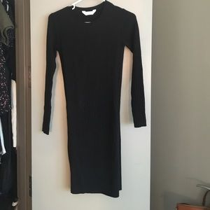 9ce90124fee Everlane Dresses - Everlane The Luxe Wool Ribbed Long Sleeve Dress
